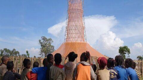 Torre de bambu é invenção capaz de matar a sede em países subdesenvolvidos