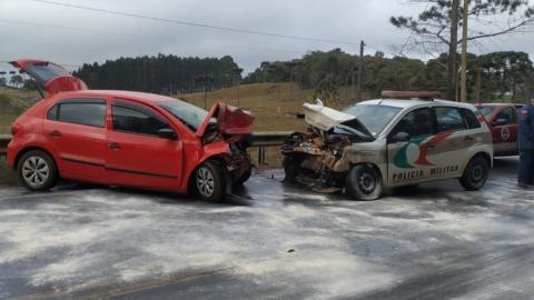 Sargento da PM, Gilmar morre ao bater viatura contra carro em pista congelada