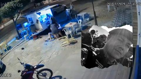 Vídeo: Cabo da PM, Manoel lutou por 3 minutos antes de ser executado; atirador morreu pouco depois
