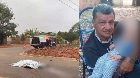 Paraplégico, Luiz capota triciclo e morre ao passar sobre entulhos na via