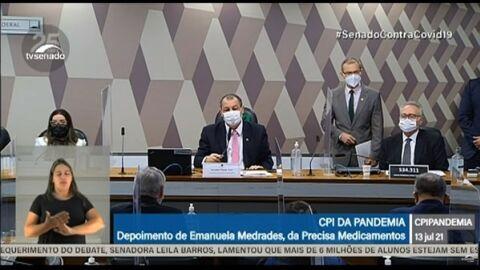 AO VIVO: Emanuela, diretora da Precisa, depõe na CPI da Pandemia