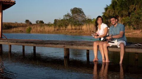 Um dia antes do casamento, médico morre eletrocutado com vara de pescar