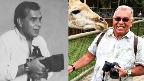Mesmo vacinado, fotógrafo Arlindo Namour morre aos 73 anos