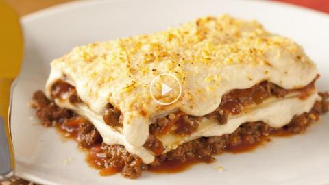 Vídeo: receita de Lasanha à Bolonhesa, aprenda a fazer em 4 minutos
