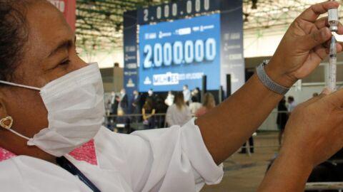 Com 97% das doses aplicadas, MS lidera vacinação no Brasil