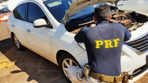 PRF apreende 731,2 Kg de maconha e recupera veículo em Campo Grande (MS)