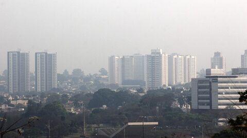 Umidade relativa do ar fica em 7% em Campo Grande e Ribas do Rio Pardo, 2ª menor do país