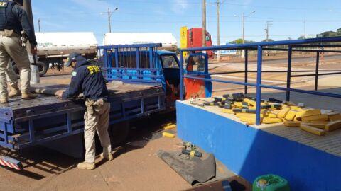 PRF apreende mais de meia tonelada de maconha em Dourados (MS)