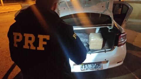 PRF apreende 54 Kg de maconha em Nova Alvorada do Sul (MS)