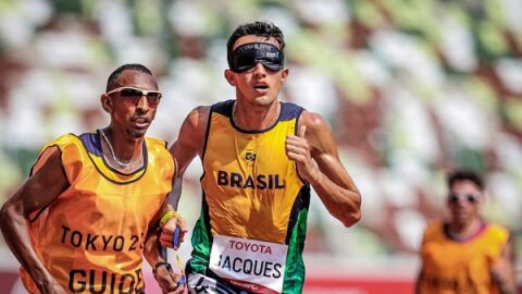 Yeltsin e Silvânia, filhos do MS, conquistam ouro em Tóquio em provas de atletismo