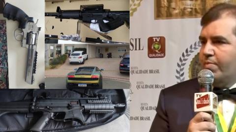 Morto pelo filho de 14 anos, Fabrício tinha carros de luxo e armas de guerra em casa