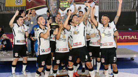 Corinthians conquista Bi na Copa do Mundo de Futsal realizada em Dourados
