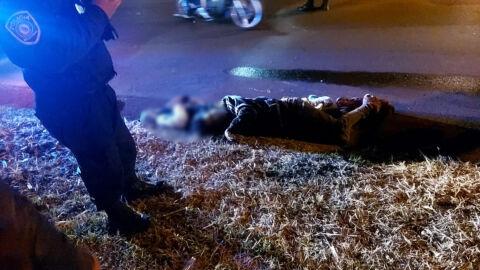 Irmãos brasileiros, Robson e Jefferson são executados com 30 tiros; imagens fortes