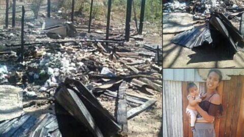 Maria, mãe aos 17, perdeu de itens domésticos à roupa do bebê em incêndio