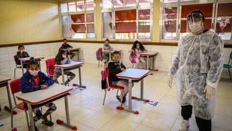 Em Três Lagoas, escolas Municipais voltaram às aulas nesta segunda-feira (2)