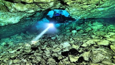 Corpo de Bombeiros Militar de MS realiza Curso de Mergulho em Caverna