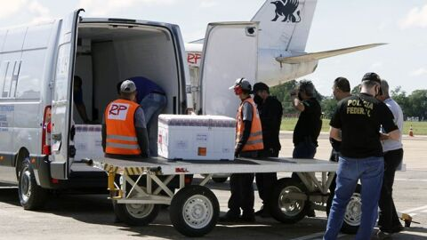 Mato Grosso do Sul recebe 62.230 doses de vacinas contra Covid-19