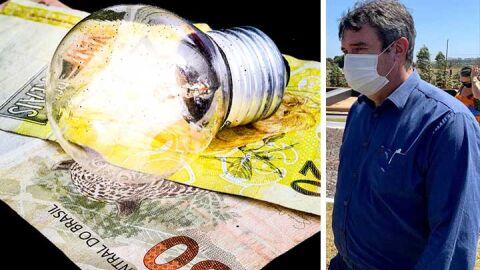 Para Riedel, Governo age bem ao propôr redução de imposto na conta de luz