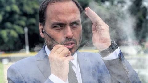 """Filho do presidente: """"Beneficiário de organização criminosa"""", diz MP"""