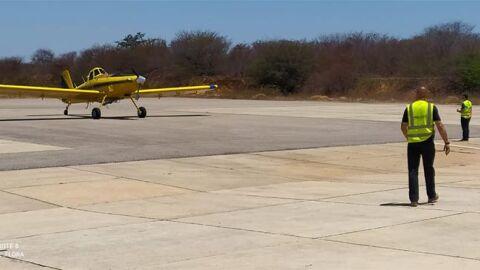 Whinderson Nunes envia avião para combater incêndios em sua terra natal