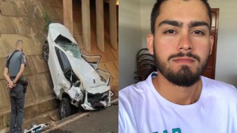 Vídeo: três-lagoense de 25 anos morre ao cair de viaduto em SP
