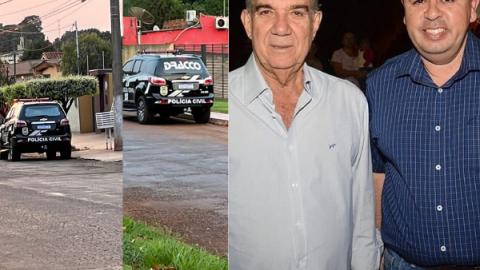 """""""Dark Money"""": casas do ex-prefeito e ex-secretário de Maracaju são alvos da polícia em MS"""