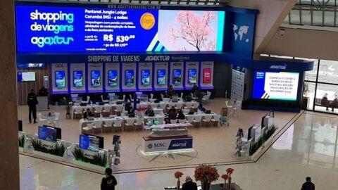 Durante 45 dias MS promove turismo no evento Shopping de Viagens Agaxtur em SP