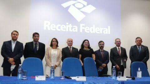 Vice-presidente da ALEMS participa de posse de delegado da Receita Federal