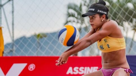 Atleta de MS carregará as cores do Brasil no vôlei de praia nos Jogos Pan-Americanos Júnior