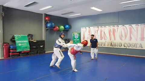 Taekwondo é o primeiro a definir campeões nos Jogos Escolares da Juventude de MS