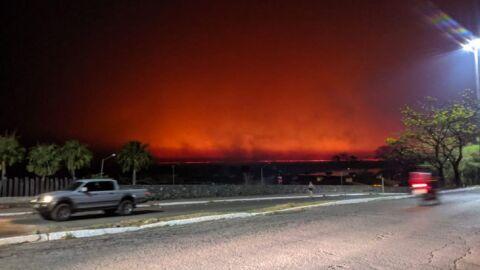 Pantanal segue seco em meio a queimadas; veja previsão do tempo para semana em MS