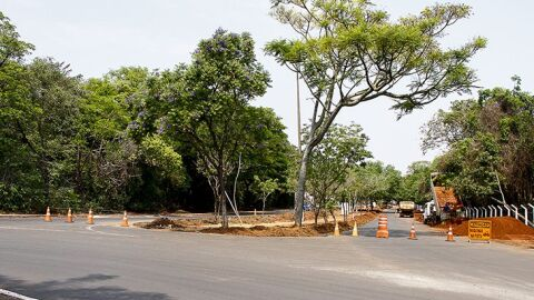Com avanço da revitalização, Parque dos Poderes tem novas mudanças no trânsito