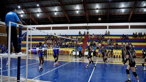 Vicentina e Três Lagoas ficam com o título da Região Leste da Liga MS de Voleibol