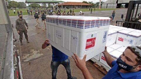 Mato Grosso do Sul recebe mais 65.150 doses de vacina contra a Covid-19