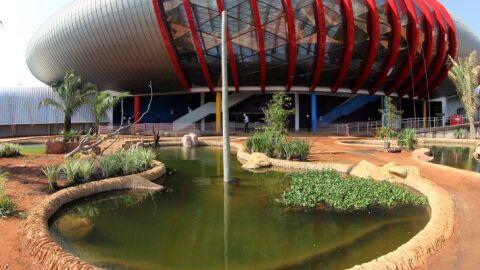 Governador prevê concluir Aquário do Pantanal em fevereiro do ano que vem