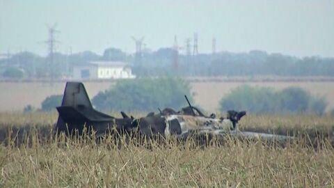 Avião da FAB cai em Campo Grande após piloto identificar problema e se ejetar