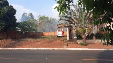Vídeo: reserva da Semalo pega fogo na Capital; 'Bombeiros' demoram 3h