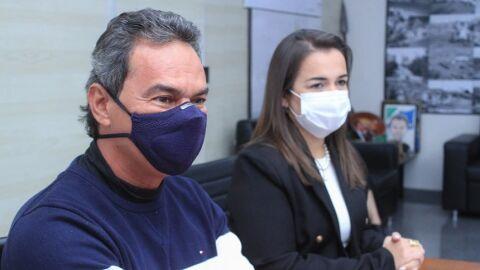 Marquinhos diz ter vice competente e preparada para o futuro