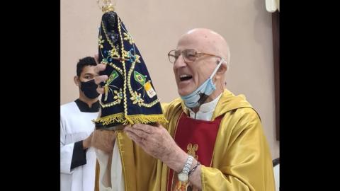 Padre Luciano Scampini morre aos 84 anos em Campo Grande