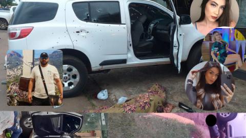 """Vídeo: """"Bebeto"""", filha de governador e mais duas estudantes de medicina levam 110 tiros"""