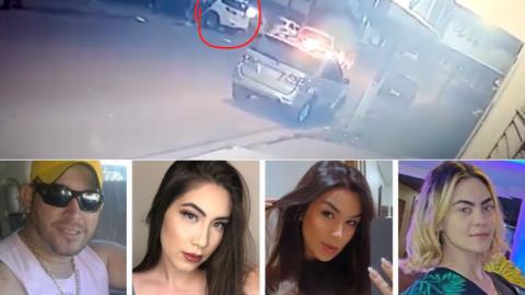 "Vídeo: atiradores usaram AR-15 e AK-47 para executar ""Bebeto"" e estudantes de medicina"