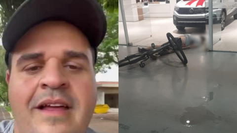 AGORA: vereador Farid Afif é executado a tiros enquanto pedalava