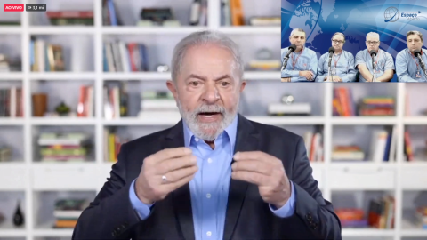 Lula dá entrevista à Rádio em MS; acompanhe as falas do ex-presidente ao vivo