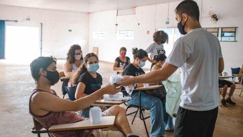 Remi traz três semanas de ações e sete oficinas de artes gratuitas nas Moreninhas