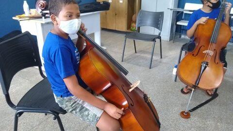 Orquestra infantil de crianças carentes realiza sua 1ª Mostra Cultural