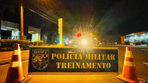 Ocorrerá tiros e explosões em ataque simulado a banco de Campo Grande; vídeo