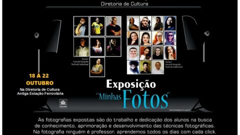 """Exposição """"Minhas Fotos"""" será realizada de 18 a 22 de outubro em Três Lagoas"""