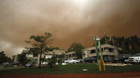 """Tempestade """"haboob"""" atinge 8 municípios em MS"""