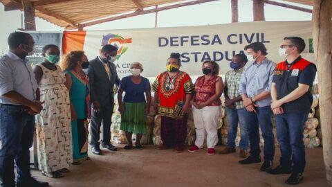Subs Racial finaliza a entrega de 5.600 cestas de alimentos para as comunidades quilombolas