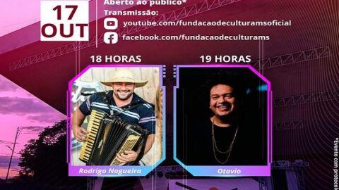 Som da Concha deste domingo terá o Soul e Jazz de Otávio e o sertanejo de Rodrigo Nogueira